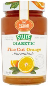 Stute Diabetic Fine Cut Marmalade Orange 430g