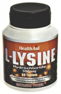 HealthAid L-Lysine 500mg Tablets Pack of 60
