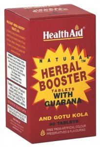 HealthAid Herbal Booster with Guarana Tablets Pack of 30