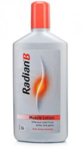 Radian-b Muscle Lotion Plastic Packs 250ml