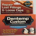 Dentemp Temporary Dental Filling Mix