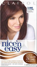 Clairol Nice n Easy Natural Dark Burgundy Brown 3.5BG (formerly 113A)