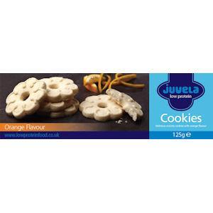Juvela Gluten Free Cookies Orange 125g