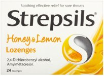 Strepsils Lozenges  Honey & Lemon Pack of 24