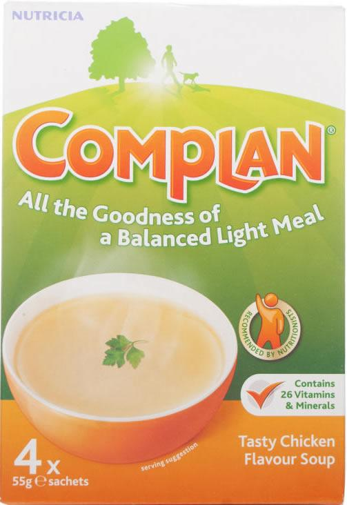 Complan Sachets Chicken 55g Pack of 4