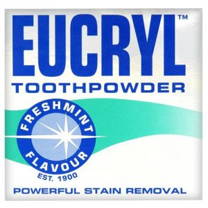 Eucryl Smokers Tooth Powder Freshmint 50g