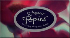 Pop ins Sanitary Disposal Bags Pack of 50