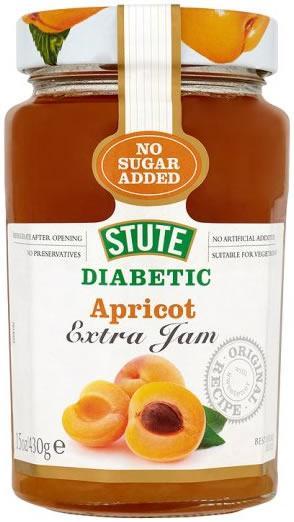 Stute Diabetic Preserve Apricot 430g