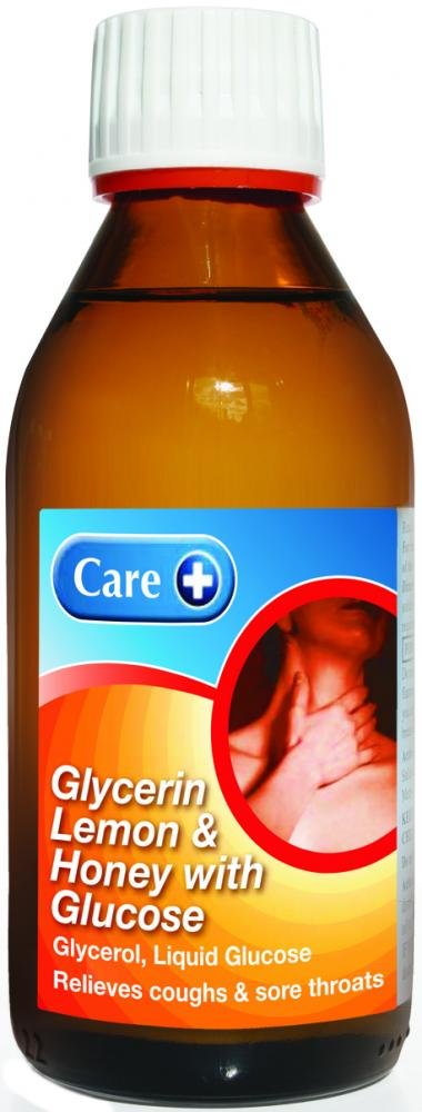 Care Glycerin, Lemon & Honey with Glucose 200ml