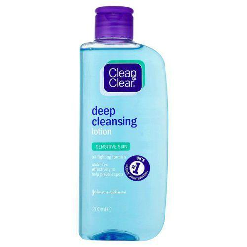 Clean & Clear Deep Cleansing Lotion Sensitive 200ml