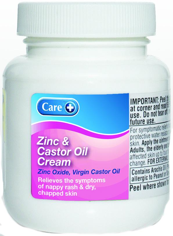 Care Zinc & Castor Oil Cream 100g