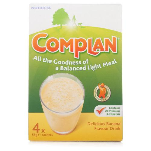 Complan Sachets Banana 55g Pack of 4