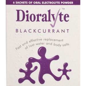Dioralyte Supplement Sachets Blackcurrant Pack of 6