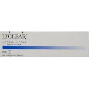 Lyclear Dermal Cream 30g
