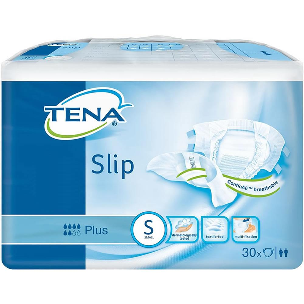 TENA Slip Plus Small Pack of 30 x 3