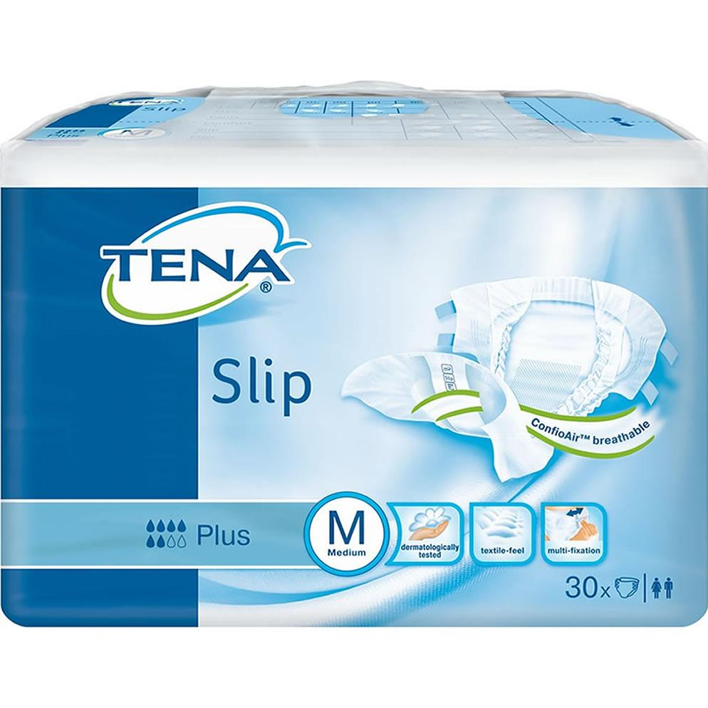 TENA Slip Plus Medium Pack of 30 x 3