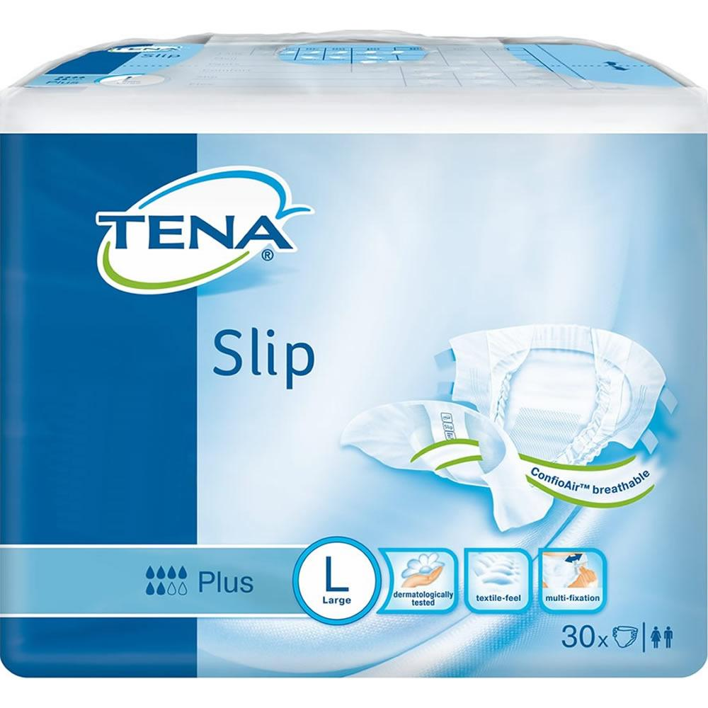 TENA Slip Plus Large Pack of 30 x 3