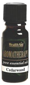 HealthAid Cedarwood Essential Oil 10ml