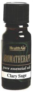 HealthAid Clary Sage Essential Oil 10ml