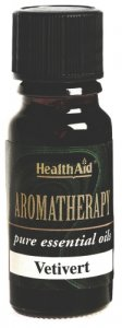 HealthAid Vetiver Essential Oil 10ml