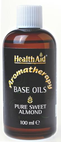 HealthAid Massage Oils Sweet Almond Oil 100ml