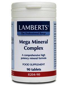 Lamberts Mega Mineral Complex Tablets Pack of 90