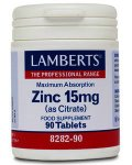 Lamberts Zinc Citrate Tablets 15mg Pack of 90