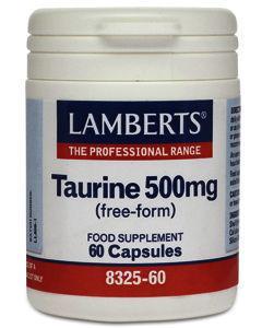 Lamberts Taurine Capsules 500mg Pack of 60