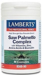 Lamberts Saw Palmetto Complex Capsules Pack of 90