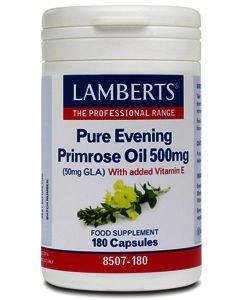 Lamberts Evening Primrose Oil Capsules 500mg Pack of 180
