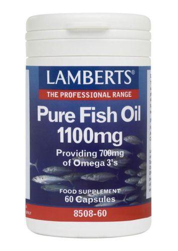 Lamberts Fish Oil 1,100mg Capsules Pack of 60