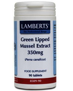 Lamberts Green Lipped Muscle Extract Tablets 350mg Pack of 90