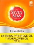 Seven Seas Evening Primrose & Starflower Oil Caps 1000mg Pack of 30