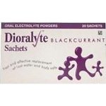 Dioralyte Supplement Sachets Blackcurrant Pack of 20