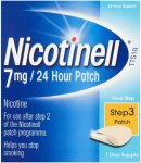 Nicotinell TTS10 Patient Support Material and Patches (7mg) Pack of 7