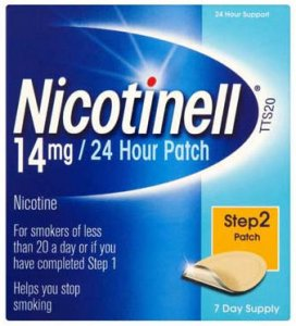 Nicotinell TTS20 Patient Support Material and Patches (14mg) Pack of 7