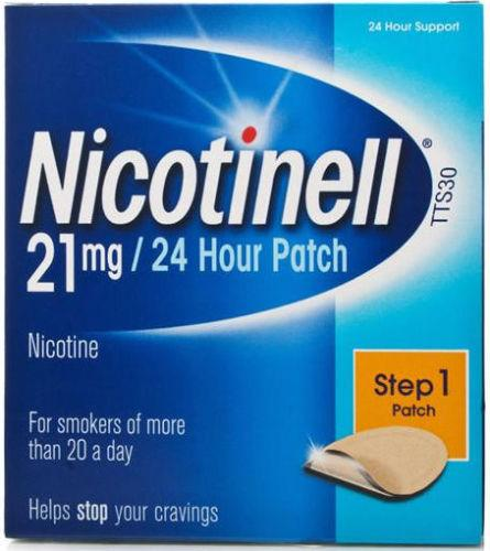 Nicotinell TTS30 Patient Support Material and Patches (21mg) Pack of 7