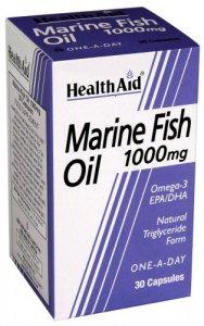 HealthAid Marine Fish Oil 1000mg Capsules Pack of 30