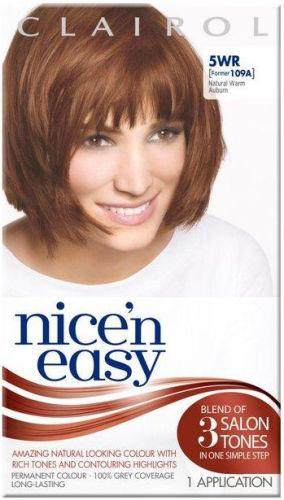 Clairol Nice n Easy Natural Warm Auburn 5WR (formerly 109A)