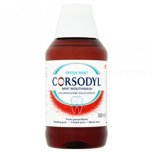 Corsodyl Mouthwash Mint 300ml