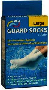 Aqua Guard Socks 6-8 large