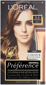 L'Oreal Preference Virginia Chestnut Brown 5.3