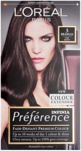 L'Oreal Preference Brasilia Dark Brown 3