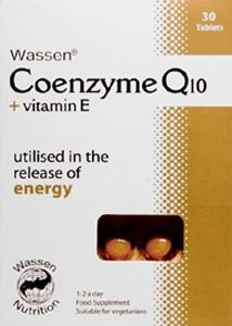 Coenzyme Q10 & Vitamin E Tablets Pack of 30