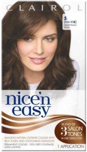 Clariol Nice n Easy Natural Medium Brown 5 (formerly 118)