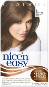Clairol Nice n Easy Natural Light Neutral Brown 6 (formerly 116)