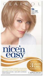 Clairol Nice n Easy Natural Light Ash Blonde 9A (formerly 102)