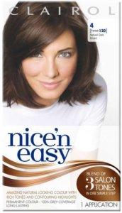 Clairol Nice n Easy Natural Dark Brown 4 (formerly 120)