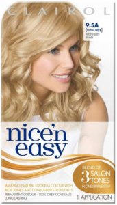 Clairol Nice n Easy Natural Baby Blonde 9.5A (formerly 101)