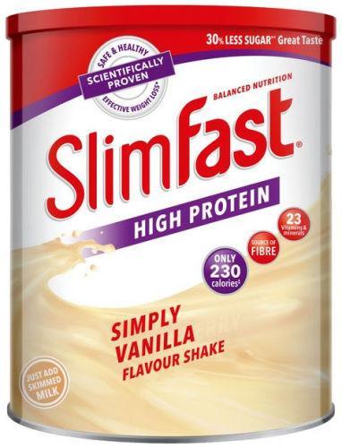 Slim Fast Simply Vanilla Shake 438g